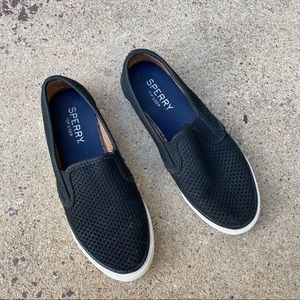 Speedy Top Sider Slip On Shoes